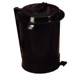 Cubo industrial de basura c/pedal 95 L