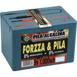 Pila 9V 1000W para pastor eléctrico