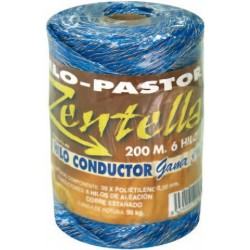 Hilo conductor azul 6 hilos PA452