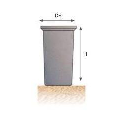 Depósito para agua potable cilíndrico DC 500