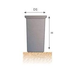 Depósito para agua potable cilíndrico DC 3000
