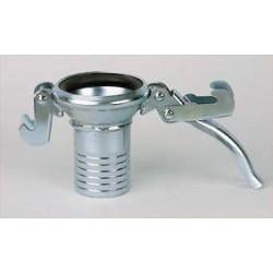 Enlace a rótula en hierro FG. 114-M, hembra para manguera S-3 25mm