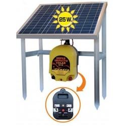 Pastor eléctrico SUPER IMPACTO SOLAR 25W
