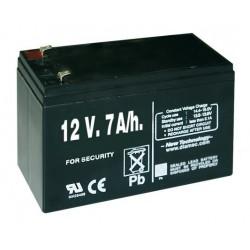 Pila recargable 12V 7A/h para pastor eléctrico