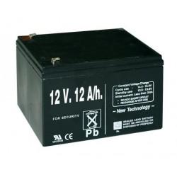 Pila recargable 12V 12A/h para pastor eléctrico