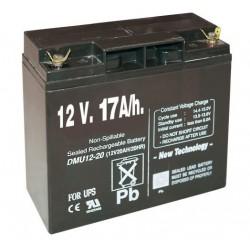 Pila recargable 12V 17A/h para pastor eléctrico