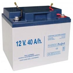 Batería-Gel recargable 12V 40A/h para pastor eléctrico
