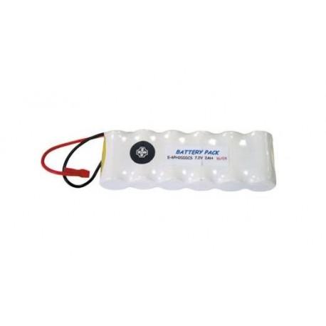 Batería recargable 7,2V 1,8A/h