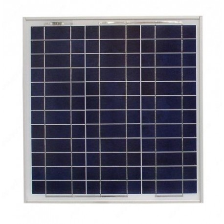 Panel solar monocristalino 25W
