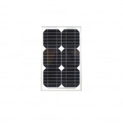 Panel solar monocristalino 15W