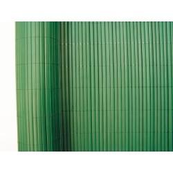 Cañizo plástico simple verde 1x5 m