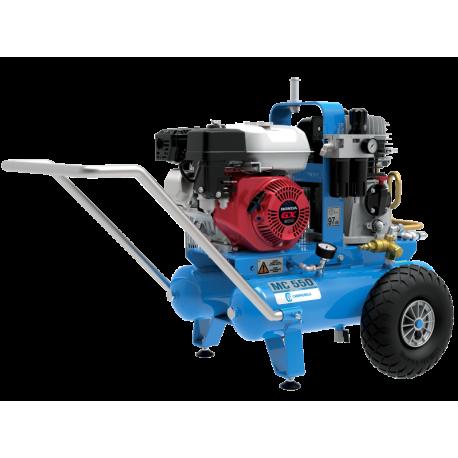 Motocompresor de aire de ruedas traccionado MC 550