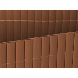 Cañizo plástico Oval Chocolate 2x3 m