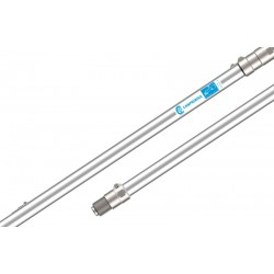 Alargadora neumática fija de Aluminio sin empuñadura 100cm Campagnola
