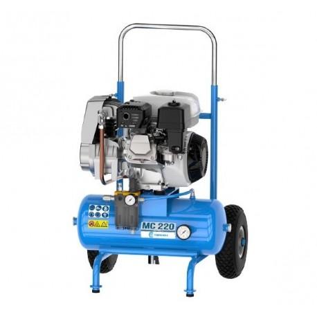 Motocompresor de aire con ruedas MC 220 Campagnola