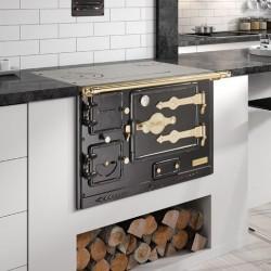 Cocina doméstica Serie T/Bao 6 Leña Hergom
