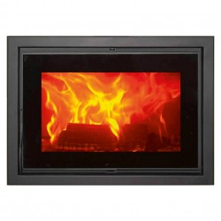 Hogar Fireplace F-820-S EcoDesign leña Panadero