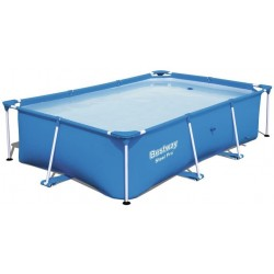 Piscina tubular rectangular SteelPro Bestway 2,59 m x 1,70 m x 61 cm