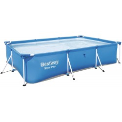Piscina tubular rectangular SteelPro Bestway 3 m x 2,01 m x 66 cm