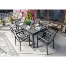 Conjunto Muebles Aluminio