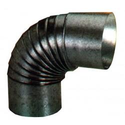 Codo Estufa Galvanizado 90º 200x0.8 mm