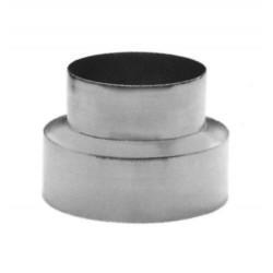 Reducción Tubo Estufa Galvanizado 120-100 mm