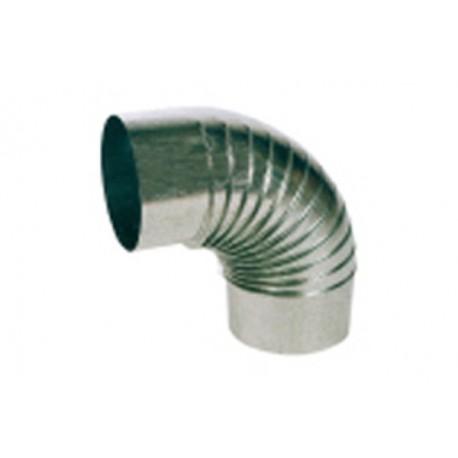 Codo Estufa Galvan 0.8 mm 45º 180 mm