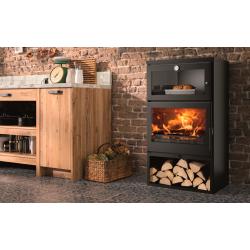 Estufa con horno asador Oven EcoDesign PANADERO
