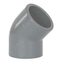 Codo PVC 45º 32mm