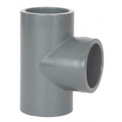 Te PVC 90º 32mm