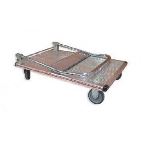 Carro plataforma plegable aluminio GAYNER 150kg